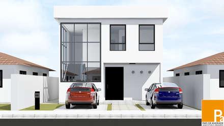 Single family home by Paes de Andrade Arquitetura