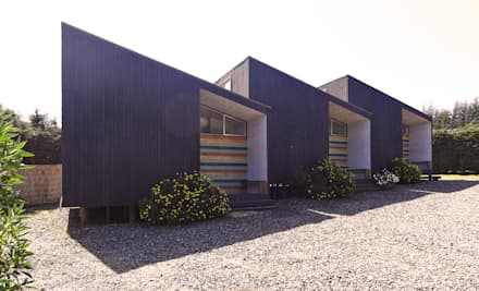 Bungalows by m2 estudio arquitectos