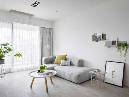 白色畫布:  屋頂 by 寓子設計