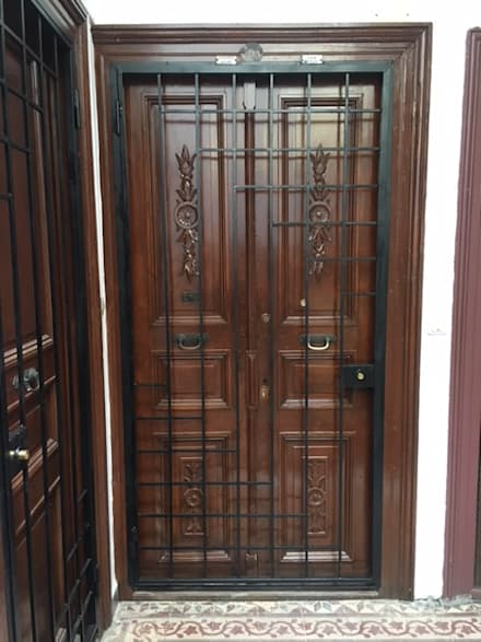 Wooden doors by MİMPERA