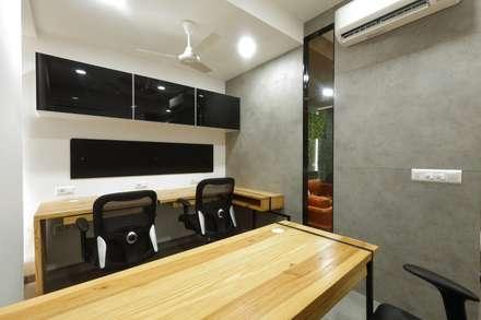 Staff Area:  Office buildings by malvigajjar