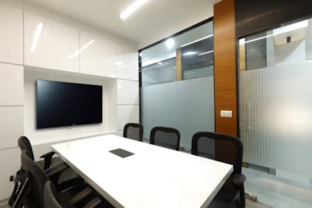 Conference Room:  Office buildings by malvigajjar