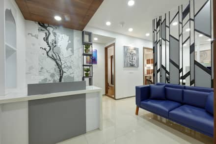Reception:  Office buildings by malvigajjar