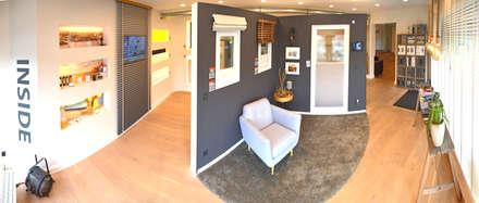 Ausstellung innenliegender Sonnenschutz:  Ladenflächen von Bielenberg - Sonnenschutz