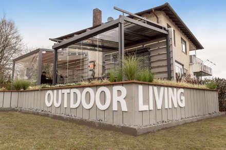 Ausstellung Outdoor-Living Sonnenschutz:  Ladenflächen von Bielenberg - Sonnenschutz