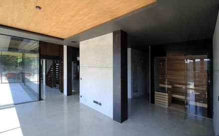 Wellness: minimalistisches Spa von Architekt Zoran Bodrozic