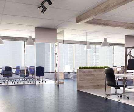 Reformas de oficinas y negocios en Málaga: Oficinas y Tiendas de estilo  de Klausroom