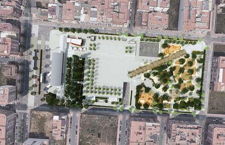 Viceversa Arquitectura & Diseño의  부섭 지붕