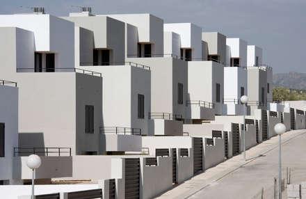 Calle: Casas unifamilares de estilo  de ÁVILA ARQUITECTOS