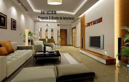 classic Media room by PROYECTO & DISEÑO DE INTERIORES
