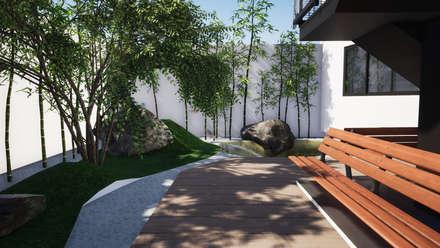 Азиатские сады в . Автор – Trignum Arquitectura