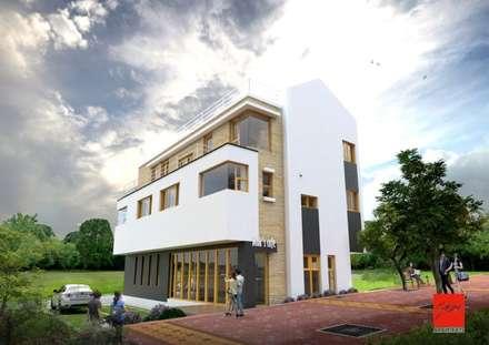 정관 상가주택 FORTUNA : GN건축사사무소의  다가구 주택