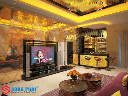 Sala multimediale in stile  di laixaynhapho92