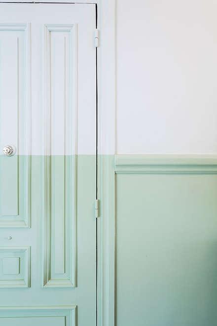 Деревянные двери в . Автор – Imaisdé Design Studio