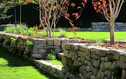 Stone steps: country Garden by MyLandscapes Garden Design