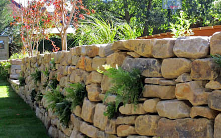 Native planting: country Garden by MyLandscapes Garden Design