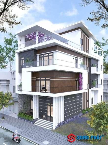 Casas ecológicas de estilo  de laixaynhapho92