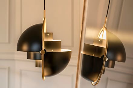 VIVIENDA MUNTANER: Estudios y despachos de estilo moderno de Meritxell Ribé - The Room Studio