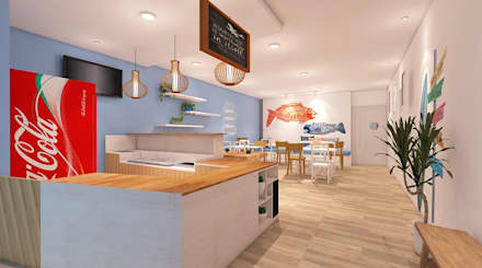 LOX RESTO:  Ruang Makan by IFAL arch