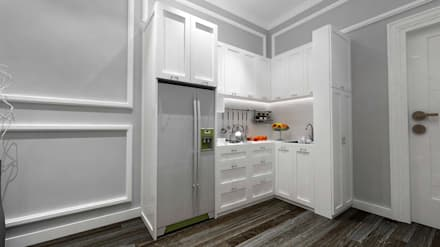 Built-in kitchens by IFAL arch
