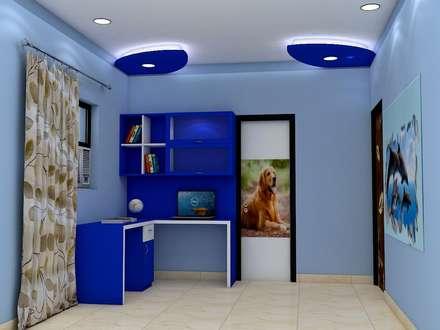 Sare Homes: classic Study/office by Saraswati Interior