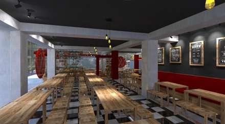 WAROENG ENJOI  RESTO:  Ruang Makan by IFAL arch