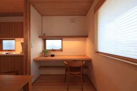 Рабочие кабинеты в . Автор – 田村建築設計工房