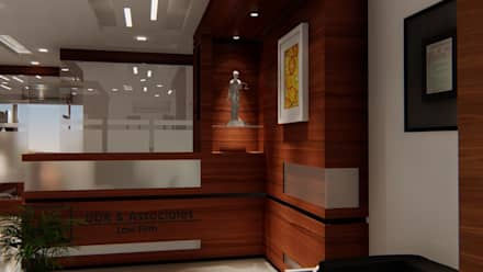 Interiors:  Corridor & hallway by SBA
