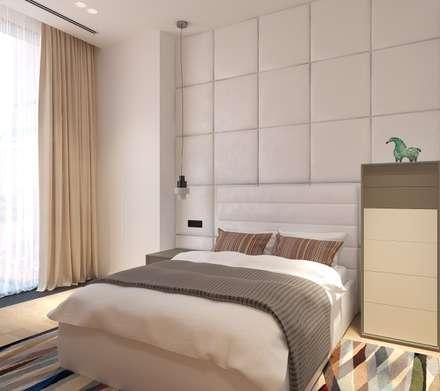 Teen bedroom by Архитектурная мастерская Александра Ордынцева