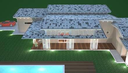 Avantgarde Construct Luxury Srl의  목조 주택