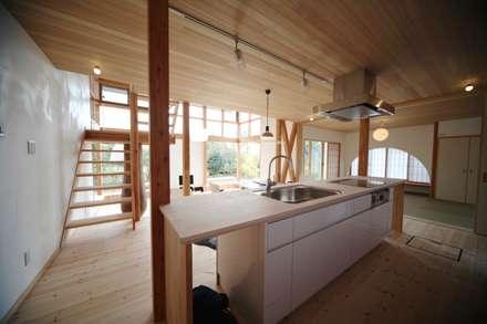 Built-in kitchens by 株式会社高野設計工房