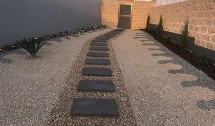 construção de jardim em pedra : Jardins de pedras  por Francisco jardinagem