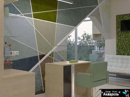 Commercial Spaces by Дизайн студия 'Акварель'