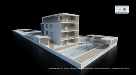 Wohnhaus - Mehrgenerationenwohnen - Übersicht:  Mehrfamilienhaus von iDlabs Studio für Architektur + Design