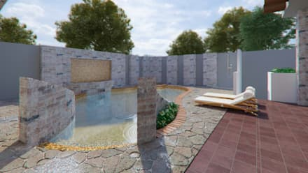 Garden Pool by Arq. Alejandro Garza