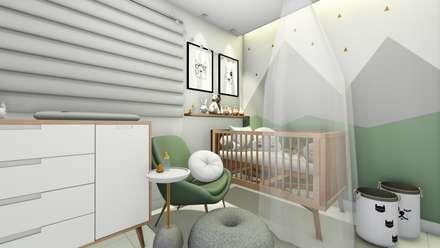 育嬰房 by Bonomiveras Arquitetura Urbanismo e Interiores