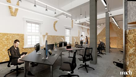 Offices & stores by Much Creative Communication Limited