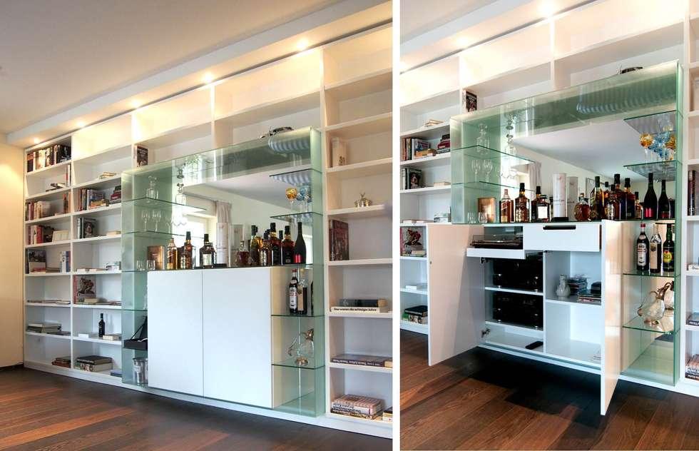 Wohnideen interior design einrichtungsideen bilder for Schrankwand wohnzimmer klassisch