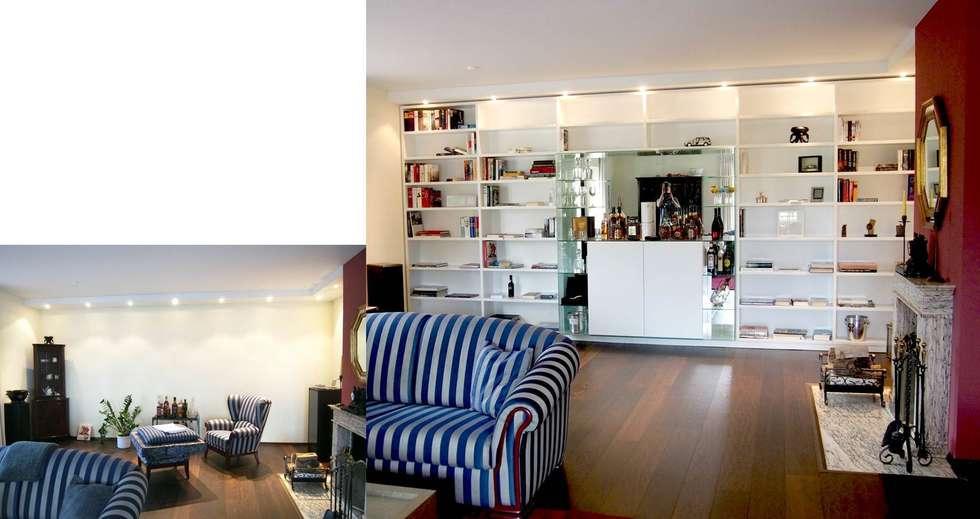 Schrankwand nach Maß: klassische Wohnzimmer von Einrichtungsideen