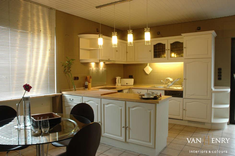 """Wohnung """"New York"""": klassische Küche von vanHenry interiors & colours"""
