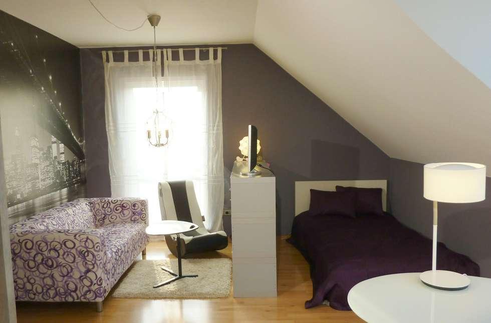 Jungedzimmer Sitzecke + Schlafbereich: moderne Kinderzimmer von Einrichtungsideen