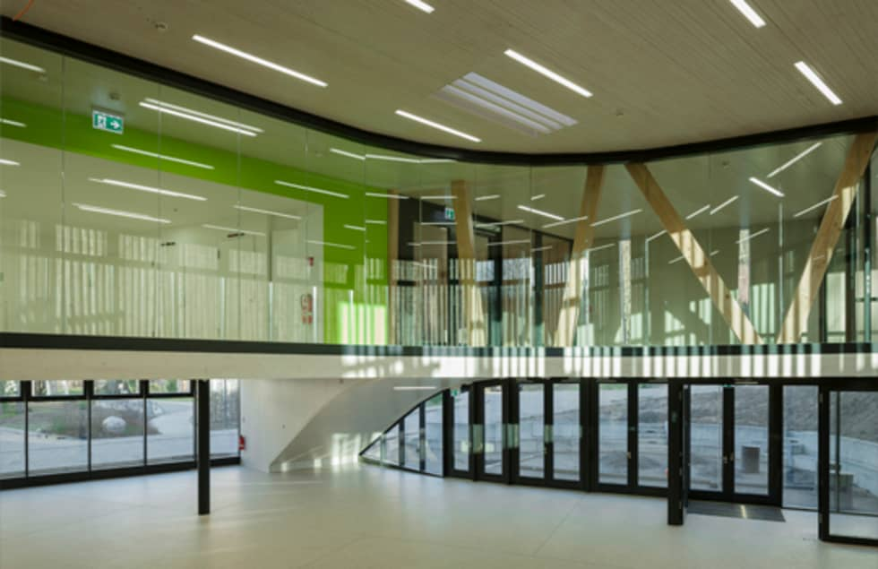 Mensa Waldcampus:  Schulen von andreas gehrke . architekt