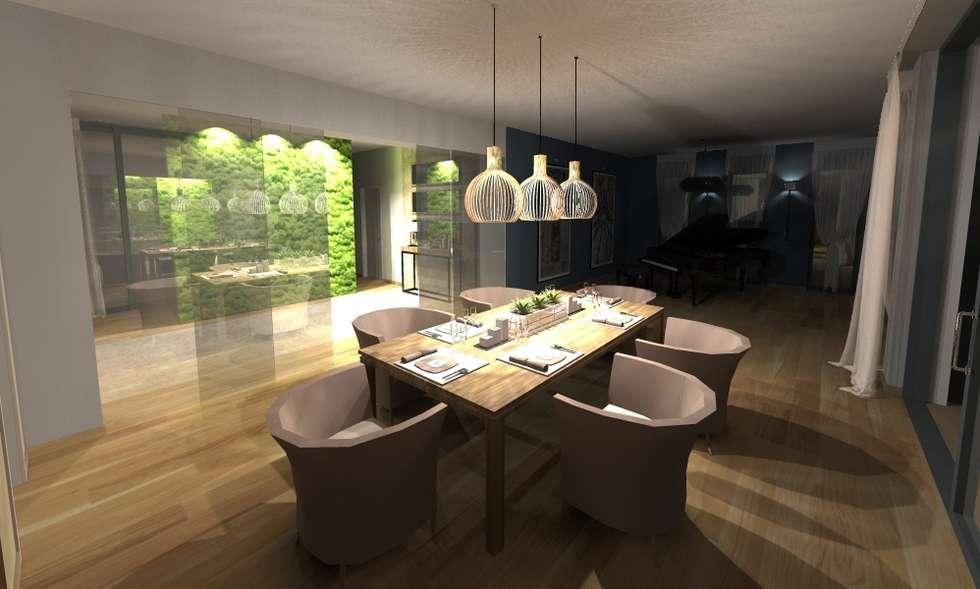 fotos de comedores de estilo de innenarchitektur s. kaiser | homify, Innenarchitektur ideen