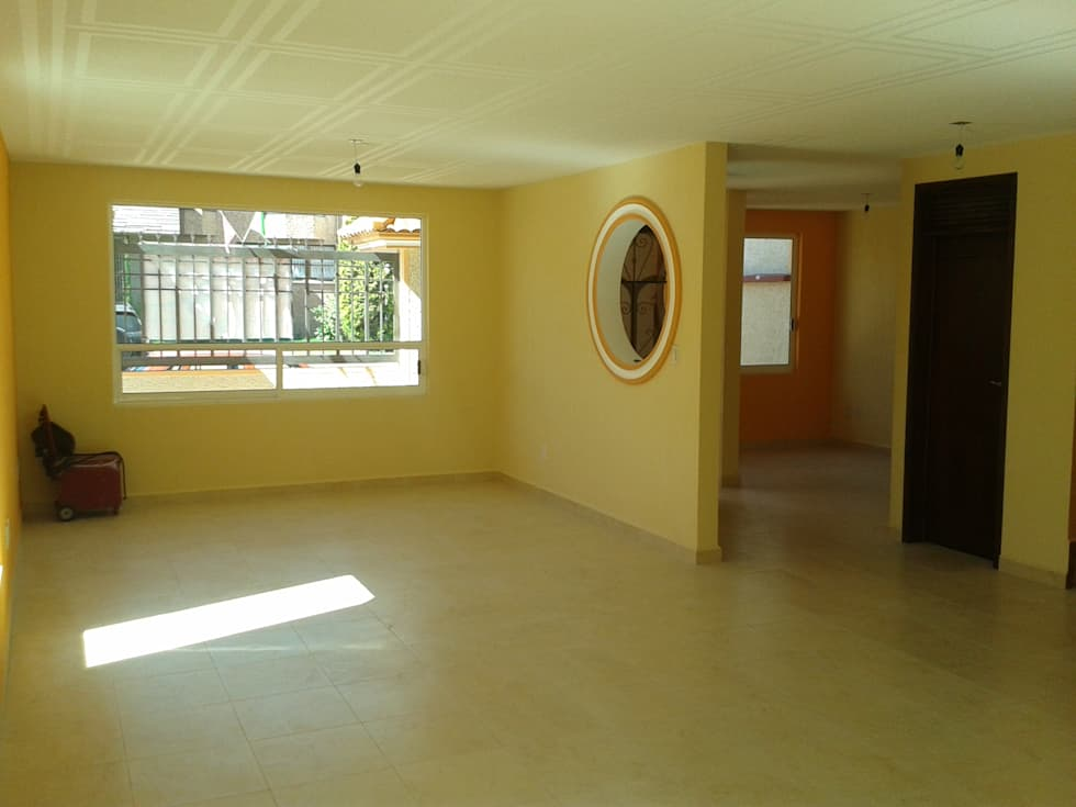 Interior: Casas de estilo rústico por DD Arquitectos