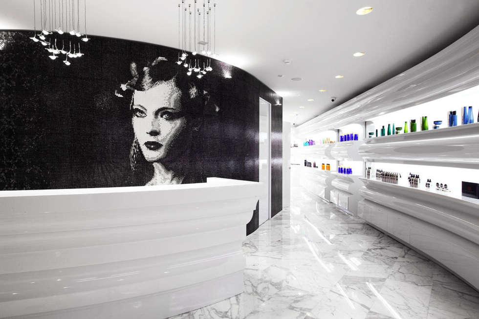 Aldo Coppola Salon:  Ladenflächen von trend group