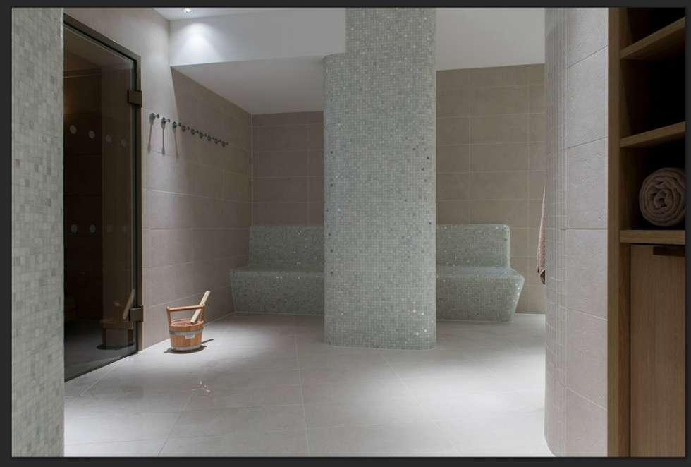 Hotel Intercontinental, Davos, Schweiz: modernes Spa von trend group