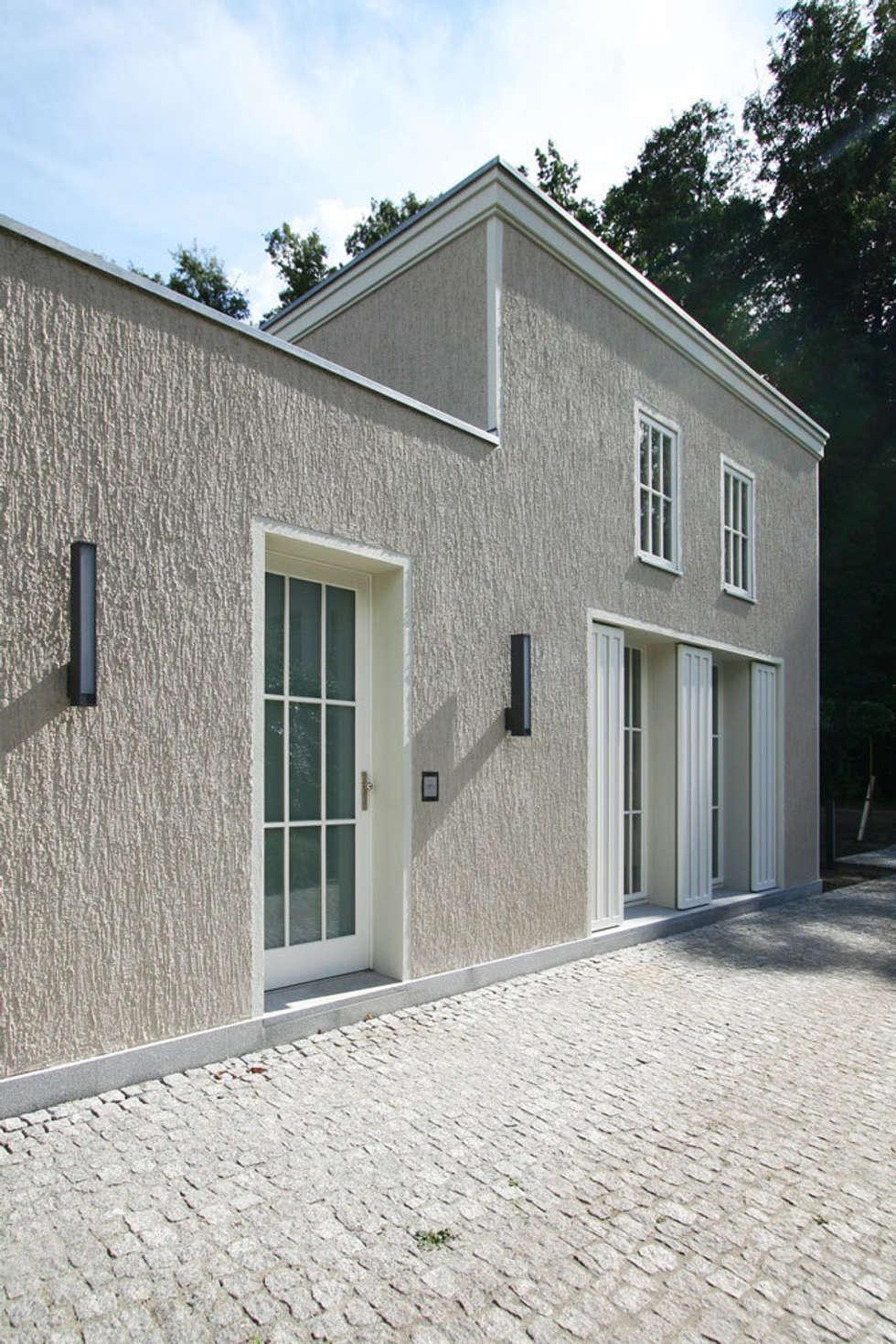 Natürlich im Grünen! - Landhaus im Spreewald: landhausstil Häuser von CG VOGEL ARCHITEKTEN
