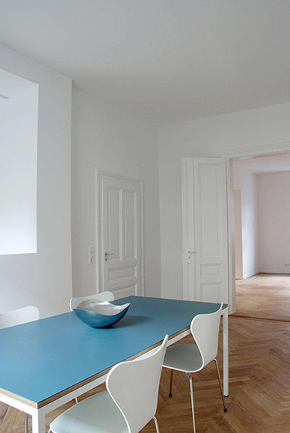 Esszimmer:  Esszimmer von Architektur Sommerkamp