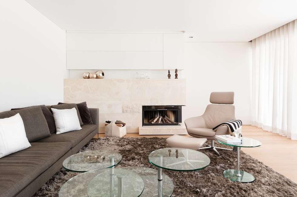 Wohndesign exclusiv: klassische Wohnzimmer von innenarchitektur-rathke