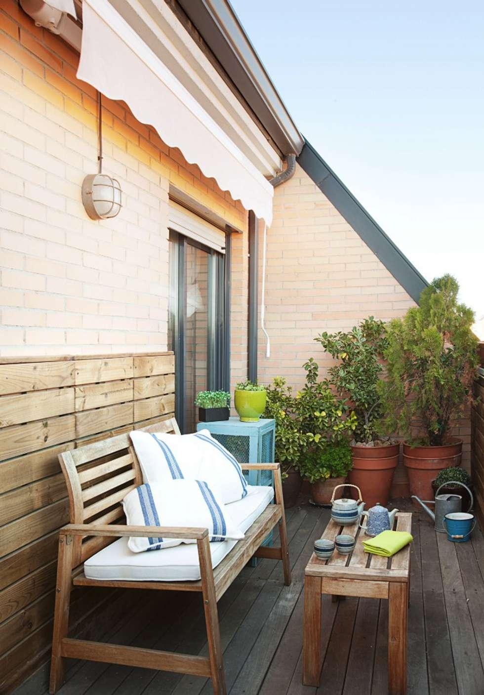 Vive la terraza. Foto: Patricia Gallego para Mí Casa. HEARST magazines I España.: Terrazas de estilo  de decoraCCion